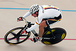 June 23, 2012: Germany's, Robert Kantner, in action during the Men's 200 meter Time Trial competition at the U.S. Grand Prix of Sprinting, Seven Eleven Velodrome, Colorado Springs, CO.