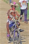 Two Girls On Bike