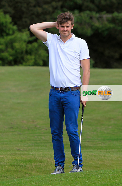 Jack Pierse (Portmarnock) on the 13th during Round 4 of the 2016 Connacht Strokeplay Championship at Athlone Golf Club on Sunday 12th June 2016.<br /> Picture:  Golffile | Thos Caffrey