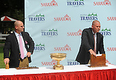 The 2009 Travers post position draw.