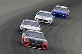 #20: Erik Jones, Joe Gibbs Racing, Toyota Camry Craftsman / Sport Clips and #11: Denny Hamlin, Joe Gibbs Racing, Toyota Camry FedEx Freight