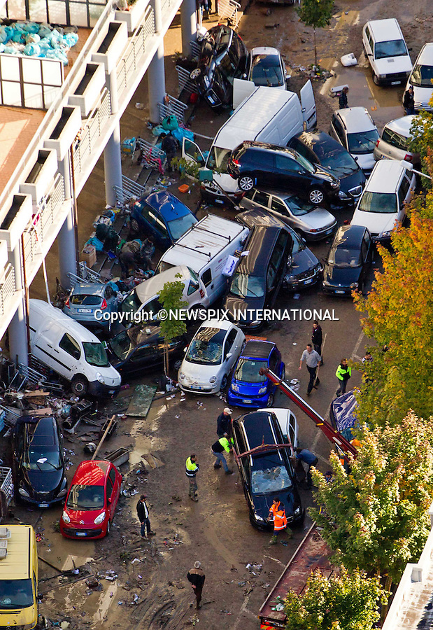 """*** EXCLUSIVE! _ Must Telephone: +441279 324672 To Agree Fees Prior To Use ***.MUDSLIDES AND FLOODING RAVAGE SCENIE ITALIAN RIVIERA.Destruction caused by the mudslides and flooding in Bocca di Magra, Italy_26/10/2011.Mandatory Credit Photo: ©NEWSPIX INTERNATIONAL..**ALL FEES PAYABLE TO: """"NEWSPIX INTERNATIONAL""""**..IMMEDIATE CONFIRMATION OF USAGE REQUIRED:.Newspix International, 31 Chinnery Hill, Bishop's Stortford, ENGLAND CM23 3PS.Tel:+441279 324672  ; Fax: +441279656877.Mobile:  07775681153.e-mail: info@newspixinternational.co.uk"""