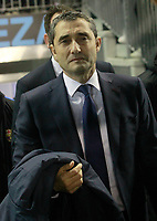 FC Barcelona's coach Ernesto Valverde during Spanish Kings Cup match. January 4,2018. (ALTERPHOTOS/Acero)