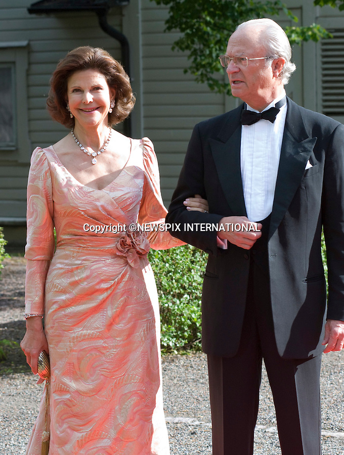 """KING CARL GUSTAF AND QUEEN SILVIA OF SWEDEN.PRINCESS VICTORIA_PRE-WEDDING DINNER.hosted by the Swedish Government, Eric Ericsonhallen, Stockholm_18/062010.Mandatory Credit Photo: ©DIAS-NEWSPIX INTERNATIONAL..**ALL FEES PAYABLE TO: """"NEWSPIX INTERNATIONAL""""**..IMMEDIATE CONFIRMATION OF USAGE REQUIRED:.Newspix International, 31 Chinnery Hill, Bishop's Stortford, ENGLAND CM23 3PS.Tel:+441279 324672  ; Fax: +441279656877.Mobile:  07775681153.e-mail: info@newspixinternational.co.uk"""