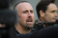 RadioSport's Nigel Yalden. All Blacks training at Westpac Stadium in Wellington, New Zealand on Thursday, 14 June 2018. Photo: Dave Lintott / lintottphoto.co.nz