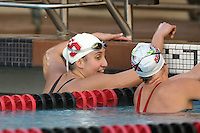 STANFORD, CA - JANUARY 22:  Andi Murez of the Stanford Cardinal during Stanford's 173-125 win over Arizona on January 22, 2010 at the Avery Aquatic Center in Stanford, California.