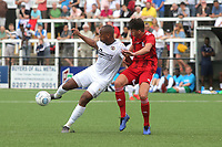 Adrian Clifton of Bromley in action during Bromley vs Fulham, Friendly Match Football at the H2T Group Stadium on 6th July 2019