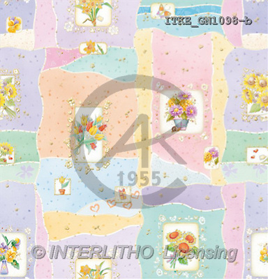 Isabella, GIFT WRAPS, paintings(ITKEGN1098-b,#GP#) everyday
