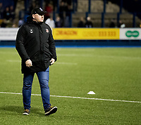 Dragons' Head Coach Bernard Jackman during the pre match warm up<br /> <br /> Photographer Simon King/CameraSport<br /> <br /> Guinness Pro14 Round 6 - Cardiff Blues v Dragons - Friday 6th October 2017 - Cardiff Arms Park - Cardiff<br /> <br /> World Copyright &copy; 2017 CameraSport. All rights reserved. 43 Linden Ave. Countesthorpe. Leicester. England. LE8 5PG - Tel: +44 (0) 116 277 4147 - admin@camerasport.com - www.camerasport.co