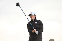 Emily Toy (ENG) on the 8th tee during the Matchplay Final of the Women's Amateur Championship at Royal County Down Golf Club in Newcastle Co. Down on Saturday 15th June 2019.<br /> Picture:  Thos Caffrey / www.golffile.ie