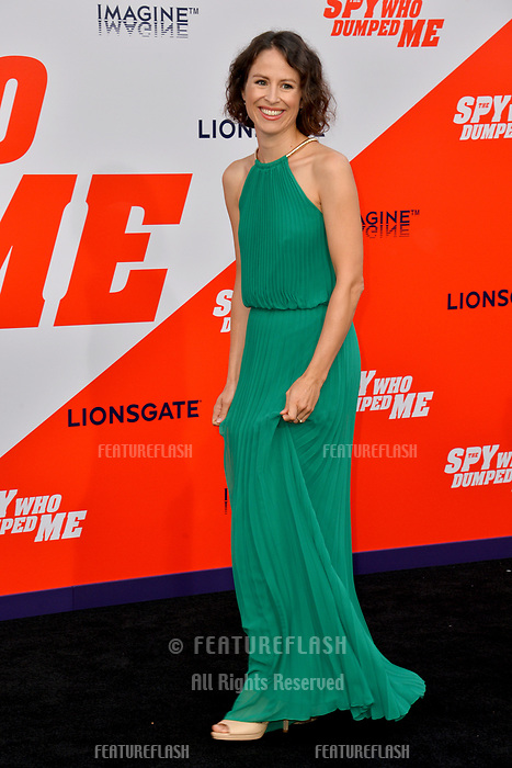 Mirjam Novak at the world premiere for &quot;The Spy Who Dumped Me&quot; at the Fox Village Theatre, Los Angeles, USA 25 July 2018<br /> Picture: Paul Smith/Featureflash/SilverHub 0208 004 5359 sales@silverhubmedia.com
