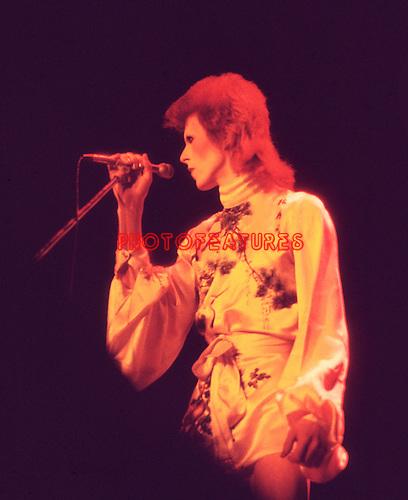David Bowie 1973<br /> &copy; Chris Walter
