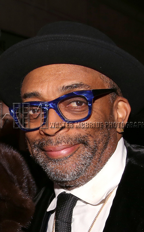 Spike Lee attends the Broadway Opening Night Performance of 'Shuffle Along' at The Music Box Theatre on April 28, 2016 in New York City.