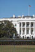 South side of the White House in Washington, DC showing the the historic Jackson Magnolia tree, located to the left of the South Portico, that is scheduled to be removed soon on Tuesday, December 26, 2017.<br /> Credit: Ron Sachs / CNP<br /> (RESTRICTION: NO New York or New Jersey Newspapers or newspapers within a 75 mile radius of New York City)