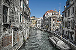 Another beautiful canal in the sestiere of Castello in Venice, Italy