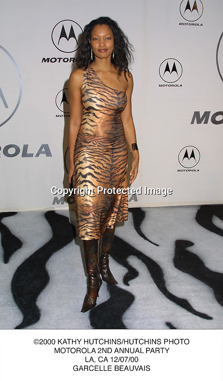 ©2000 KATHY HUTCHINS/HUTCHINS PHOTO.MOTOROLA 2ND ANNUAL PARTY.LA, CA 12/07/00.GARCELLE BEAUVAIS