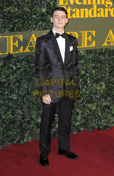 LONDON, ENGLAND - NOVEMBER 13: Anthony Boyle attends The London Evening Standard Theatre Awards at The Old Vic Theatre on November 13, 2016 in London, England.<br /> CAP/BEL<br /> &copy;BEL/Capital Pictures