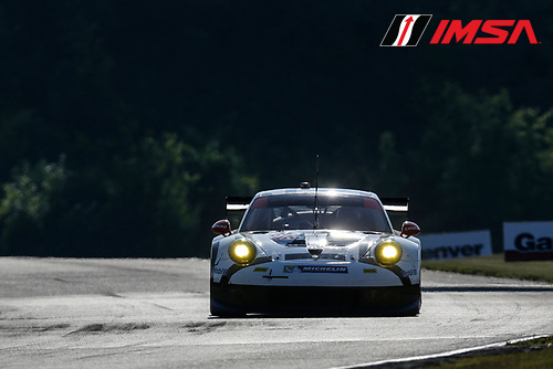 8-10 August 2014, Elkhart Lake, Wisconsin USA<br />  912, Porsche, 911 RSR, GTLM, Patrick Long, Michael Christensen<br /> &copy;2014, Michael L. Levitt<br /> LAT Photo USA for IMSA