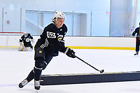 June 26, 2018: Boston Bruins forward Oskar Steen (62) skates during the Boston Bruins development camp held at Warrior Ice Arena in Brighton Mass. Eric Canha/CSM