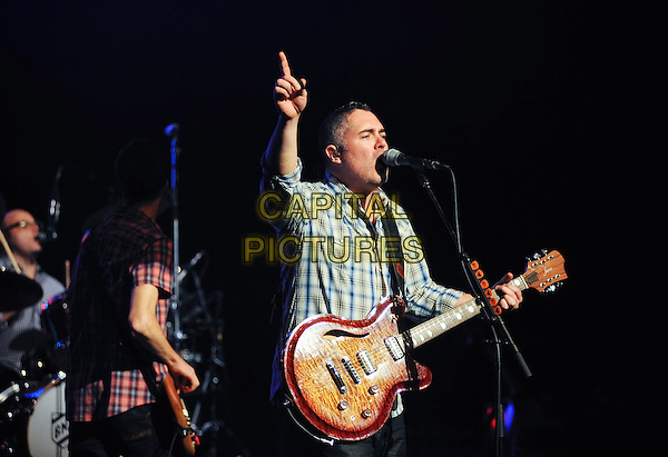 HAMILTON, ON - FEBRUARY 1  Ed Robertson of Barenaked Ladies performs on stage at Hamilton Place Theatre. <br /> CAP/ADM/BPC<br /> &copy;Brent Perniac/AdMedia/Capital Pictures