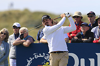 Pedro Figueiredo (POR) tees off the 2nd tee during Thursday's Round 1 of the Dubai Duty Free Irish Open 2019, held at Lahinch Golf Club, Lahinch, Ireland. 4th July 2019.<br /> Picture: Eoin Clarke | Golffile<br /> <br /> <br /> All photos usage must carry mandatory copyright credit (© Golffile | Eoin Clarke)