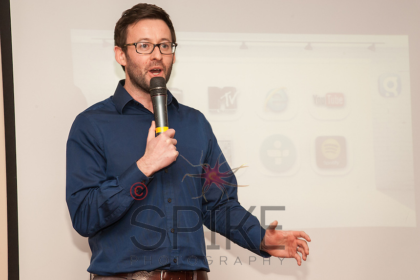 Richard Ardis of Capital FM speaks to Nottingham City Business Club