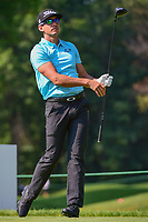 Rafa Cabrera Bello (ESP) on the 3rd during the first round of the WGC Bridgestone Invitational, Firestone country club, Akron, Ohio, USA. 03/08/2017.<br /> Picture Ken Murray / Golffile.ie<br /> <br /> All photo usage must carry mandatory copyright credit (&copy; Golffile | Ken Murray)