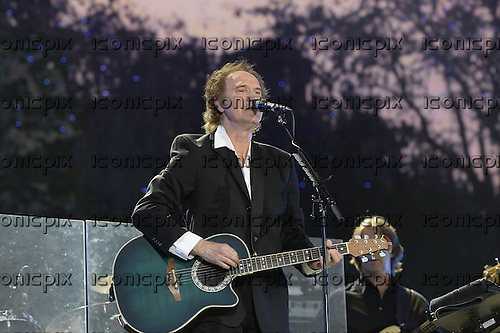 RAY DAVIES - performing live on the main stage at the Barclaycard presents British SummerTime in Hyde Park London UK - 12 Jul 2013.  Photo credit: George Chin/IconicPix
