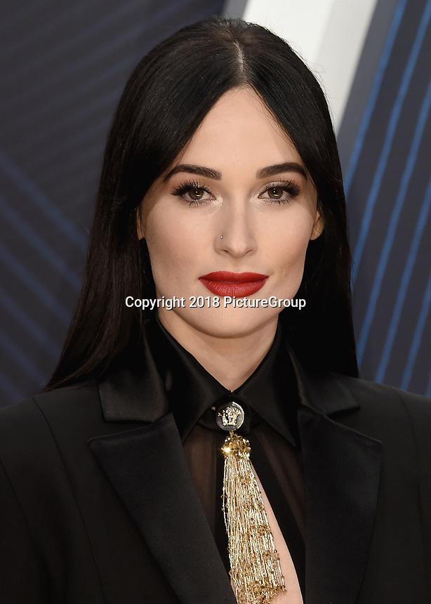 NASHVILLE, TN - NOVEMBER 14:  Kacey Musgraves at the 52nd Annual CMA Awards at the Bridgetone Arena on November 14, 2018 iin Nashville, Tennessee. (Photo by Scott Kirkland/PictureGroup)