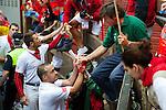 Third day inPamplona during the San fermín fiesta.<br /> 09/07/2014<br /> <br /> AZ by PHOTOCALL3000
