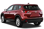 Rear three quarter view of a 2013 Mazda CX-5 GT