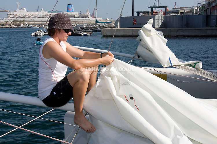 Tests - 9th Trophée Clairefontaine, Saturday 13 and Sunday 14 September 2008, Marina Juan Carlos I, Valencia,Spain
