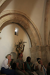Israel, Jerusalem, the Cenacle, Room of Last Supper on Mount Zion