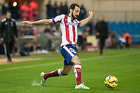 Atletico de Madrid´s Juanfran during 2014-15 La Liga match between Atletico de Madrid and Villarreal at Vicente Calderon stadium in Madrid, Spain. December 14, 2014. (ALTERPHOTOS/Luis Fernandez) /NortePhoto