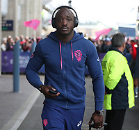 Stade Francais Paris' Hugo Bonneval arrives at the stadium<br /> <br /> Photographer Rachel Holborn/CameraSport<br /> <br /> European Rugby Challenge Cup Final - Gloucester Rugby v Stade Francais Paris - Friday 12th May 2017 - BT Murrayfield, Edinburgh<br /> <br /> World Copyright &copy; 2017 CameraSport. All rights reserved. 43 Linden Ave. Countesthorpe. Leicester. England. LE8 5PG - Tel: +44 (0) 116 277 4147 - admin@camerasport.com - www.camerasport.com
