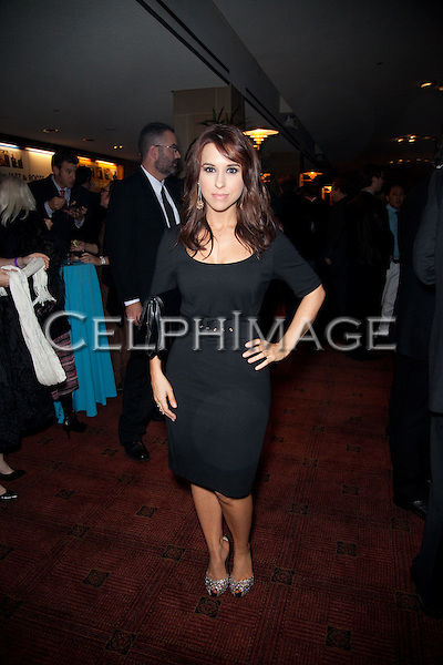 LACEY CHABERT. Attendees to the 37th Annual Annie Awards Gala at Royce Hall on the UCLA campus. Los Angeles, CA, USA. February 6, 2010.