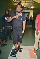 CORAL GABLES, FL - AUGUST 10: John Wicks backstage after performing during Kodak Black Homecoming Concert first show since getting home from jail in June at Watsco Center on August 10, 2017 in Coral Gables, Florida. Credit: MPI10 / MediaPunch