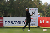 James Morrison (ENG) on the 14th tee during Round 1 of the UBS Hong Kong Open, at Hong Kong golf club, Fanling, Hong Kong. 23/11/2017<br /> Picture: Golffile | Thos Caffrey<br /> <br /> <br /> All photo usage must carry mandatory copyright credit     (&copy; Golffile | Thos Caffrey)