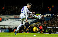 Leeds United's Pablo Hernandez can't connect and misses his shot<br /> <br /> Photographer Alex Dodd/CameraSport<br /> <br /> The EFL Sky Bet Championship -  Leeds United v Derby County - Friday 11th January 2019 - Elland Road - Leeds<br /> <br /> World Copyright &copy; 2019 CameraSport. All rights reserved. 43 Linden Ave. Countesthorpe. Leicester. England. LE8 5PG - Tel: +44 (0) 116 277 4147 - admin@camerasport.com - www.camerasport.com