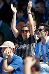 Malaga CF's supporter during La Liga match. February 25,2017. (ALTERPHOTOS/Acero)