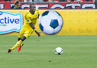 July 20, 2013: Columbus Crew foward/midfielder Dominic Oduro #11in action during a game between Toronto FC and the Columbus Crew at BMO Field in Toronto, Ontario Canada.<br /> Toronto FC won 2-1.