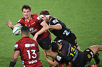 1st August 2020, Hamilton, New Zealand;  George Bridge.<br /> Chiefs versus Crusaders, Super Rugby Aotearoa, FMG Waikato Stadium, Hamilton, New Zealand.