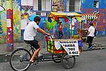 Carrinhos do projeto Casa Rodante nas Ruas da região da cracolandia. Sao Paulo. 2017. Foto de Marcia Minillo.