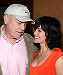Brian Dennehy & Carla Gugino attending the Media Day for the cast of Eugene O'Neill's DESIRE UNDER THE ELMS at the St. James Theatre in New York City.<br />Arril 7, 2009