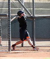 Ryan Mountcastle - Salt River Rafters - 2017 Arizona Fall League (Bill Mitchell)