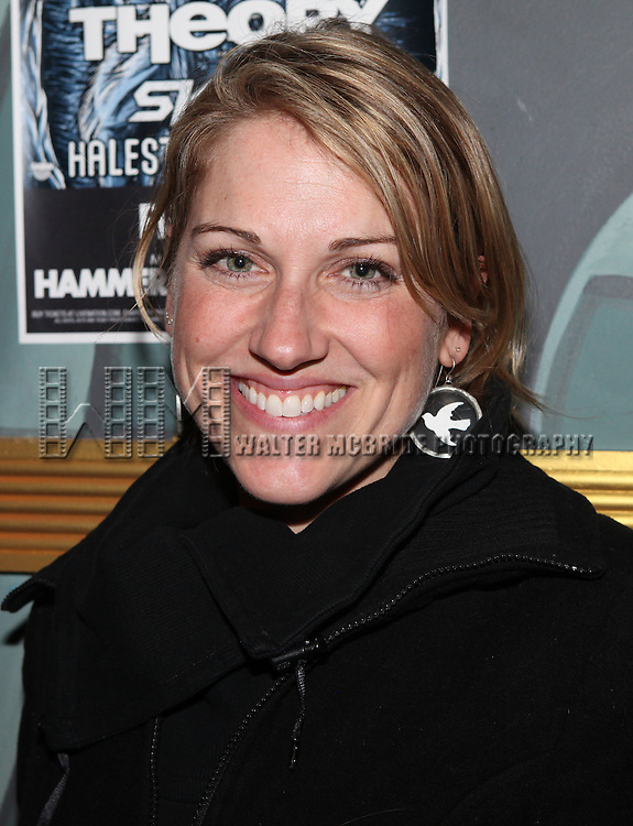 Julie Reiber attending The 24 Hour Musicals After Party at the Gramercy Theatre in New York City.