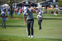 Brooks Koepka (USA) after chipping up tight on 6 during round 1 of the Arnold Palmer Invitational at Bay Hill Golf Club, Bay Hill, Florida. 3/7/2019.<br /> Picture: Golffile | Ken Murray<br /> <br /> <br /> All photo usage must carry mandatory copyright credit (&copy; Golffile | Ken Murray)