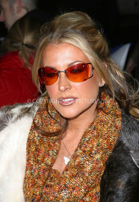 """ANASTASIA arrives at the special screening of """"Chicago."""" New York, December 18, 2002. Please byline: NY Photo Press. REF: M19 -- THIS REFERENCE CODE MUST APPEAR ON YOUR SALES REPORT, THANK YOU.....*PAY-PER-USE*      ....NY Photo Press:  ..phone (646) 267-6913;   ..e-mail: info@nyphotopress.com"""
