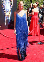LOS ANGELES, CA, USA - AUGUST 16: Model Heidi Klum arrives at the 2014 Creative Arts Emmy Awards held at the Nokia Theatre L.A. Live on August 16, 2014 in Los Angeles, California, United States. (Photo by Celebrity Monitor)