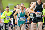 John Barrett (619) in action at the third leg of the Gneeveguilla AC Winter Road race series in Killarney National Park on Saturday